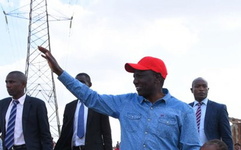 VIDEO: Dandora youth school DP Ruto on meaning of 'rieng'
