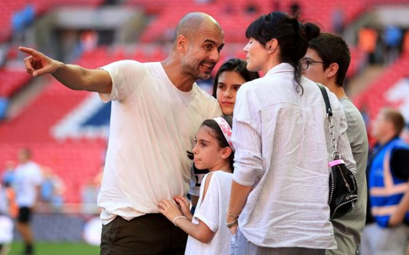 Why Pep Guardiola's wife has returned to Spain