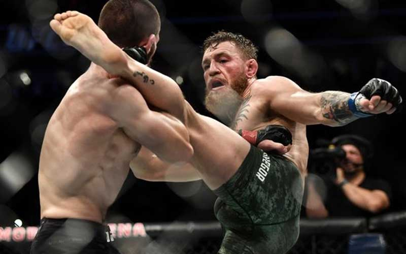 Conor McGregor 'punches old man' for declining whiskey shot