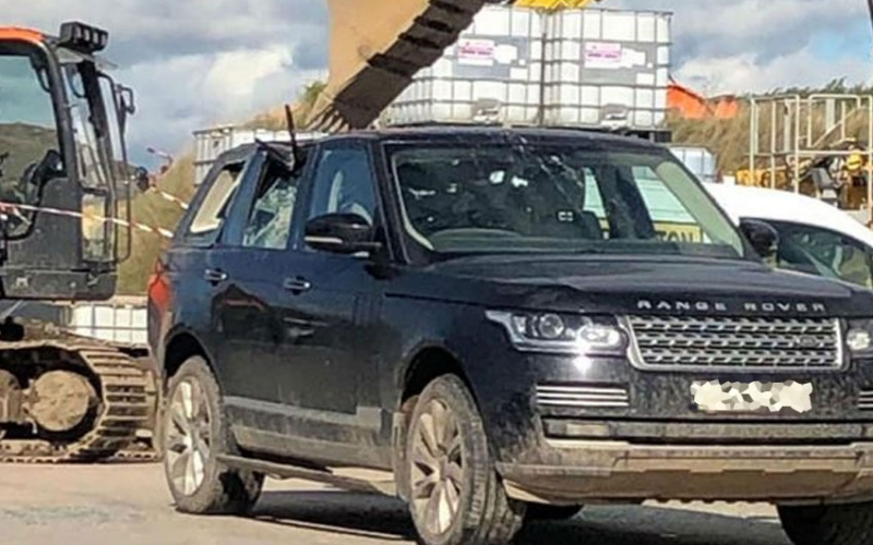 VIDEO: Disgruntled worker arrested after smashing boss' Range Rover