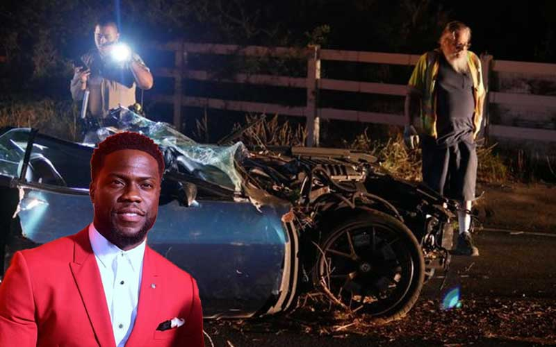 Kevin Hart returns to work a month after fracturing spine in horror crash