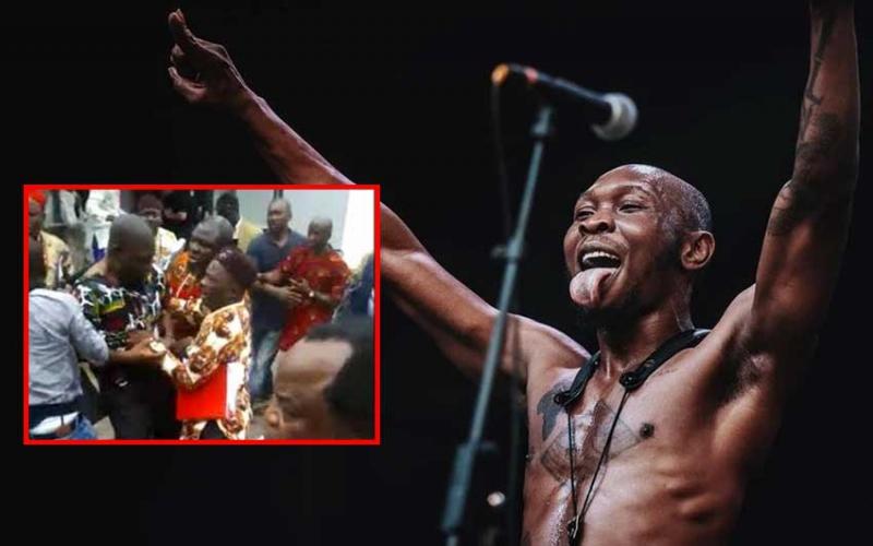 Next time you assault Nigerian politicians abroad, invite me  Fela Kutis son