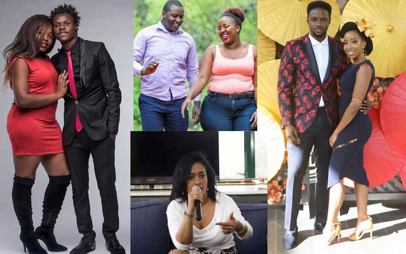 Four Kenyan celebrities accused of cheating on their partners