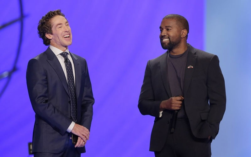 Im the greatest artist God has ever created- Kanye West says at Joel Osteen's church