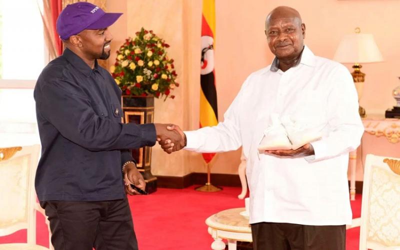 Museveni fires first shot at Bobi Wine, registers as a musician