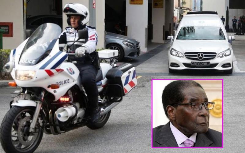 Robert Mugabe's body flown to Zimbabwe amidst burial row