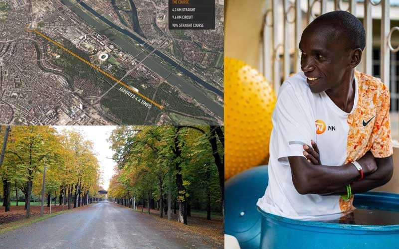 Why Vienna was chosen for Eliud Kipchoges INEOS 1:59 challenge
