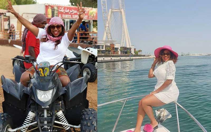 Yacht cruise: Photos of Massawe Japannis luxury Dubai holiday