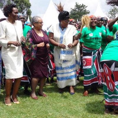 margaret kenyatta;uhuru kenyatta;kenya first lady