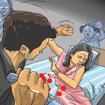 Quarrels terrify the child