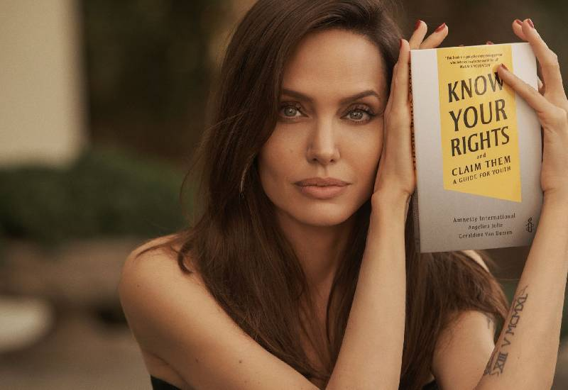 Angelina Jolie wants kids to 'fight back' with new child rights book