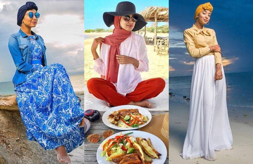 Fashion Friday Inspo: Farhana Oberson, modest travel fashion