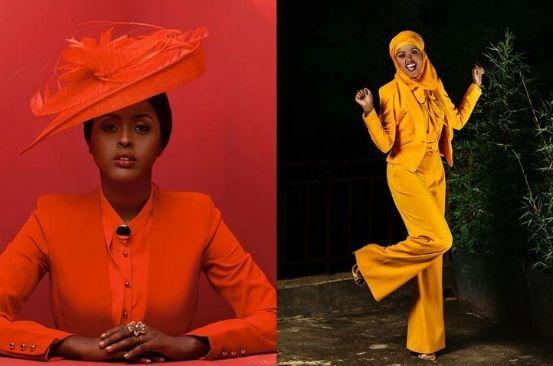 #FashionFridayInspo: Amina Abdi Rabar, unafraid of colour