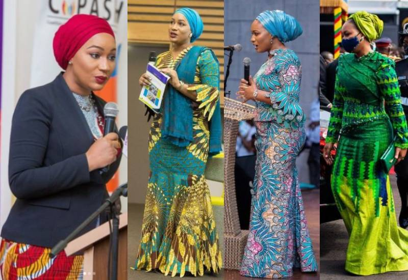 #FridayFashionInspo: African to the core with H.E. Samira Bawumia