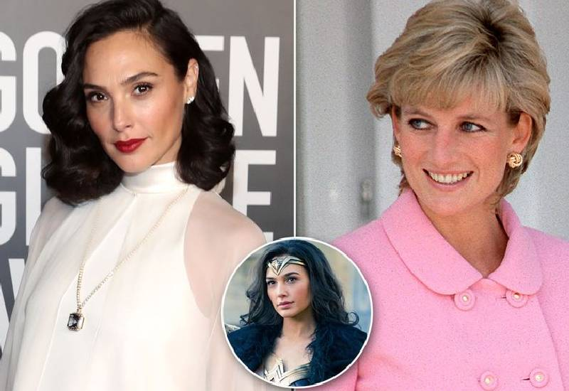 Gal Gadot says her portrayal of Wonder Woman was inspired by Princess Diana