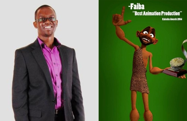 I was paid three million for my first one-minute animation  -Mr 'Faiba'