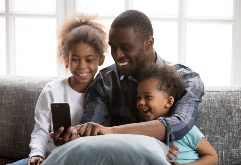 Man republic: Stop posting your child's photos online