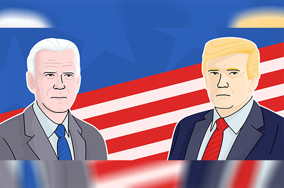 Men only: Why Biden is the man Trump can never be