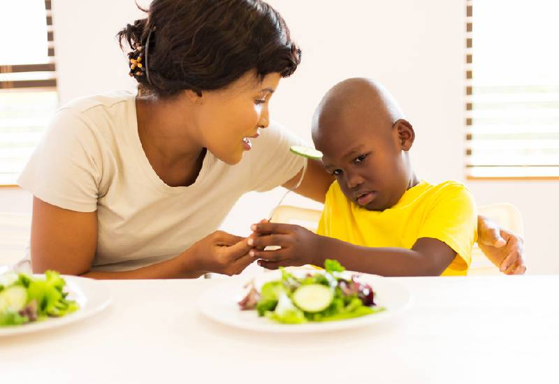Mothers could be passing down eating disorders to their children