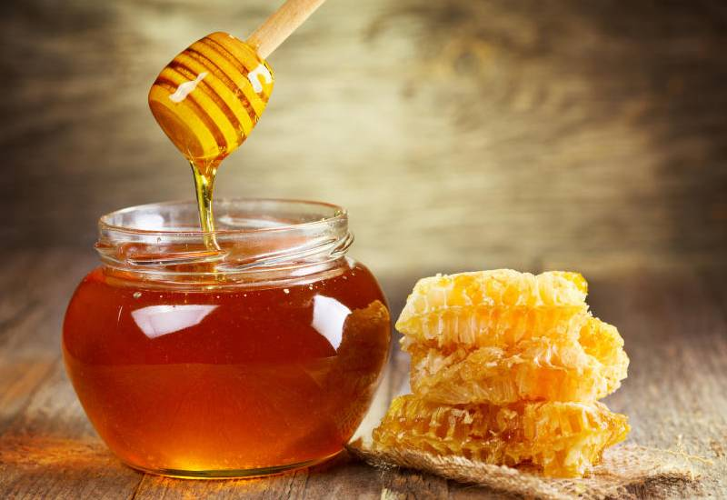 My plate: What is in your honey pot?