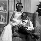 Betty weds Richard:I got to my wedding in a Probox