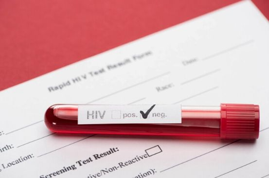Risk of HIV transmission going down