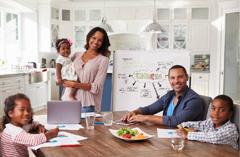 Six tips on working from home in a crowded house