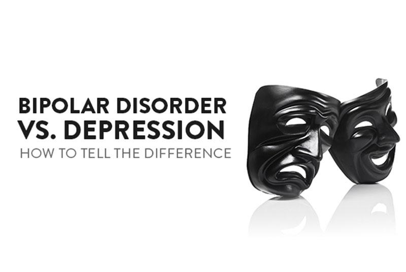 Signs that distinguish depression from bi-polar