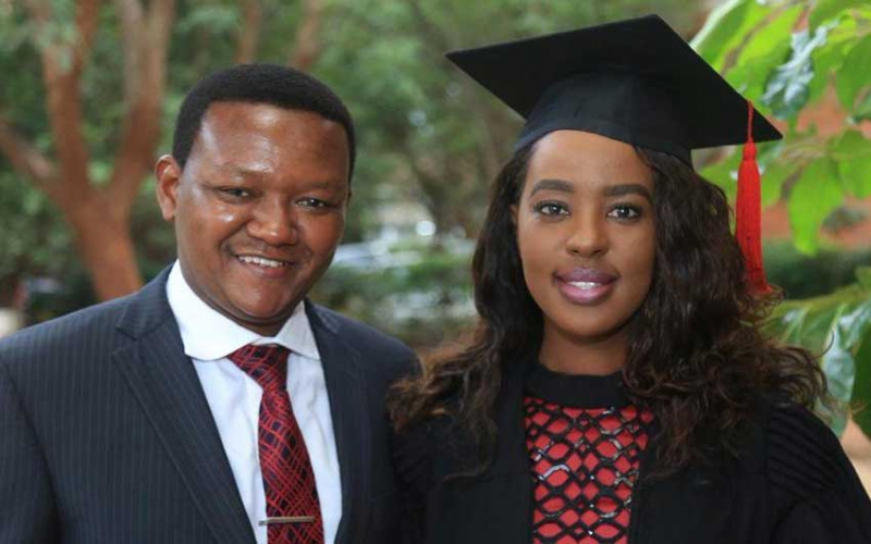 Couple goals: Governor Mutua's sweet congratulatory message to wife on her graduation