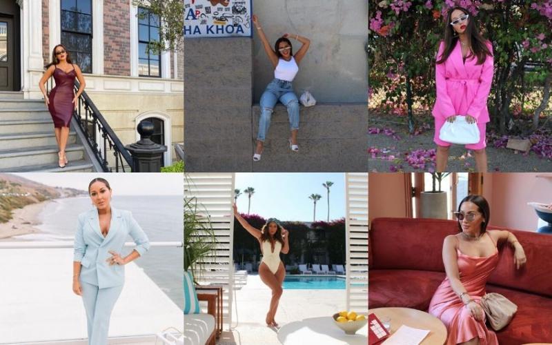 Fashion Friday Inspo: Adrienne Houghton, short girls just wanna have fun