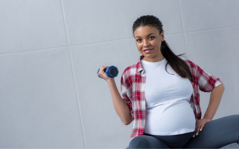 Five benefits of exercise during pregnancy