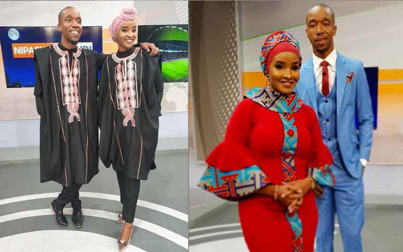 Fashion inspo: Lulu Hassan and Rashid Abdallah, someone say couple goals!
