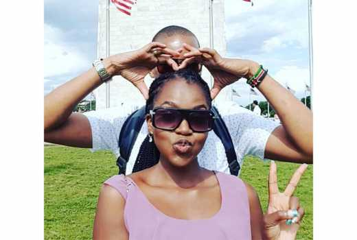 Here's proof that Joyce Omondi and Waihiga Mwaura are happily in love