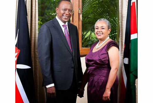 My father nudged me to befriend her: President Uhuru reveals how he met the first lady