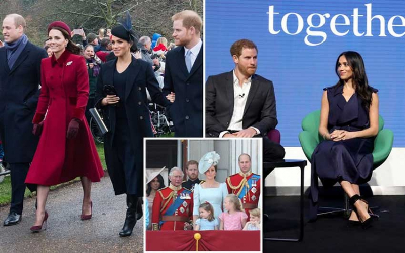 Key moment it became clear Meghan and Harry would split with William and Kate
