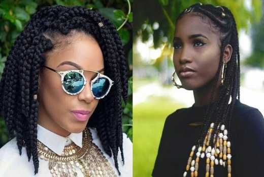 Nine Beads And Braided Hairstyles Worth Copying Eve Woman