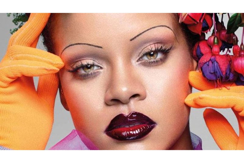 Rihanna graces the Vogue magazine cover and we can't ignore her eyebrows