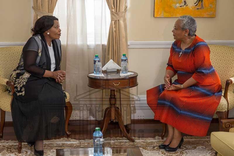 Zimbabwe's First Lady desire to be mentored by Kenya's Margaret Kenyatta