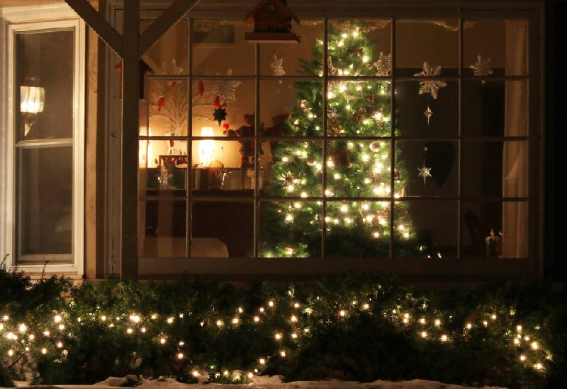 Tips for outdoor Christmas decorations