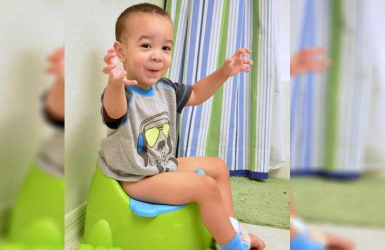 When should I begin toilet training my child?