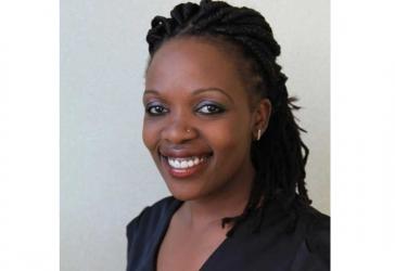 Zubeida Koome celebrates her birthday with colleagues