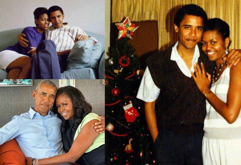 Barack and Michelle Obama celebrate 29 years in marriage