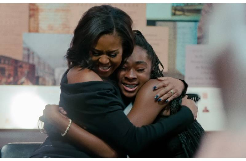 Becoming Michelle Obama movie coming up in a week