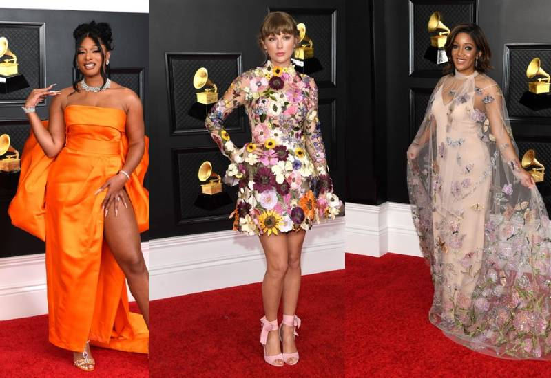 Best looks from the 2021 Grammy Awards