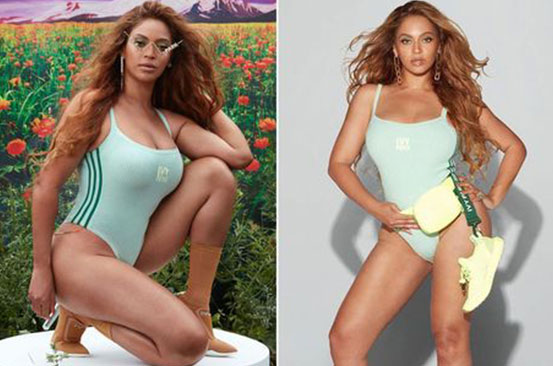 Beyoncé drives fans wild as she poses in slinky swimsuit for new Ivy Park range