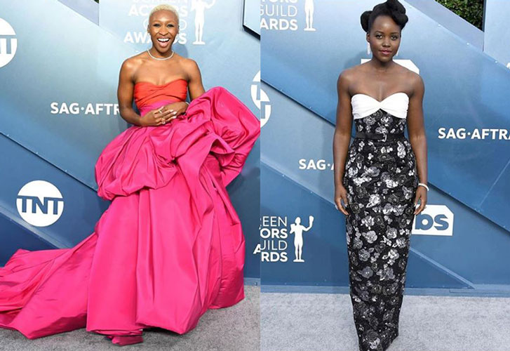 Celebrity style at the 2020 SAG Awards