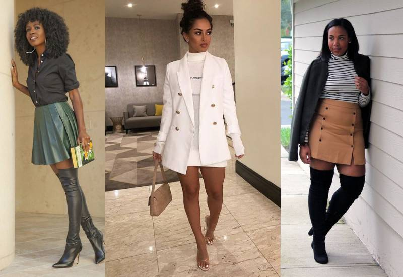 #FashionTips: How to put on a miniskirt at any age