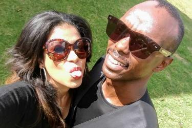 He can do an hour- Julie Gichuru takes on an ice bath with husband