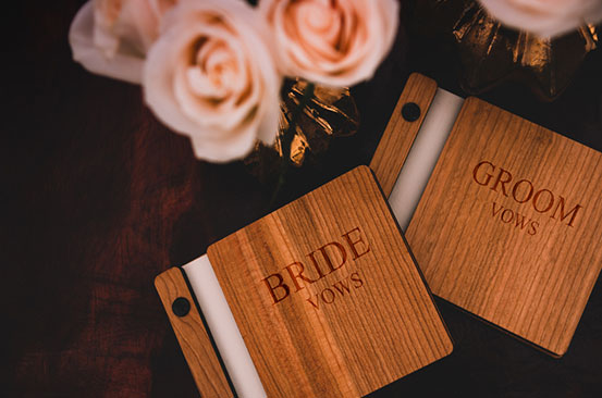 How to write moving vows for your wedding ceremony