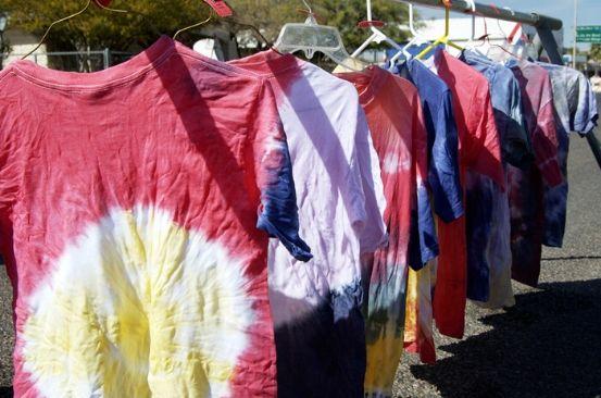 Jump on the tie-dye fashion bandwagon